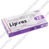 Lipvas (Atorvastatin Calcium) - 10mg (10 Tablets) P1