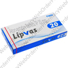 Lipvas (Atorvastatin Calcium) - 20mg (10 Tablets) P1